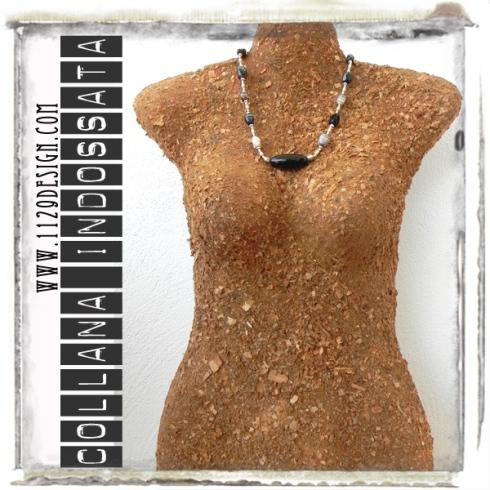 LIAGAS-indossata-collana-agata-agate-necklace-1129