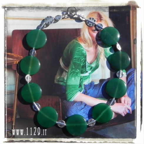 LIALE-collana-agata-verde green agate-necklace-1129
