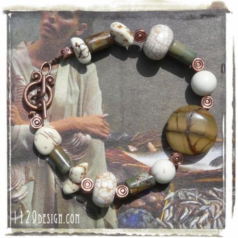 bracciale-diaspro-turchese-bianco-rame-copper-white-turquoise-jasper-bracelet-handmade-1129