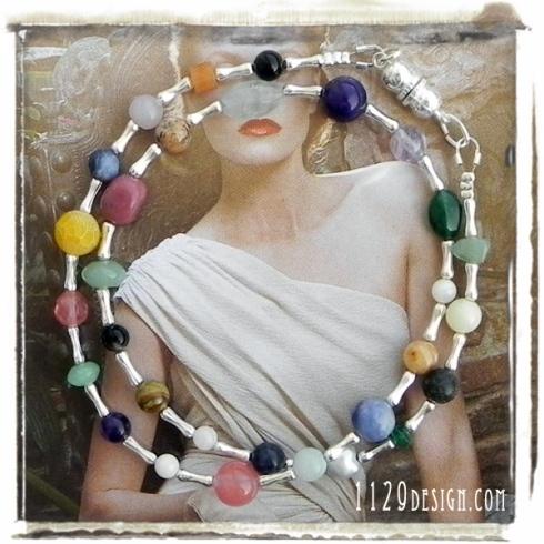 girocollo-pietre-multicolore