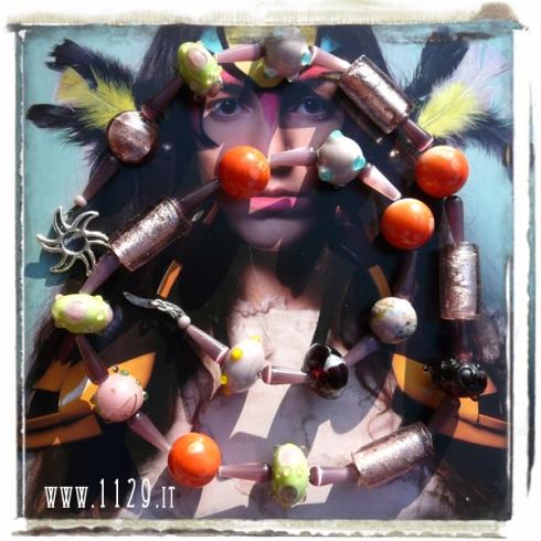 LMMCAT collana multicolore necklace