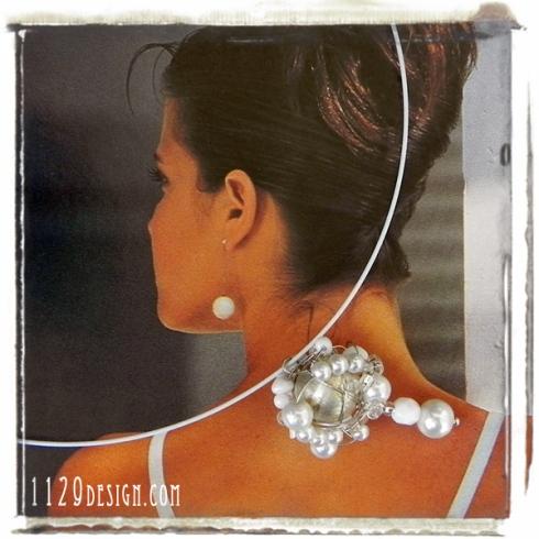 MCBIPA-girocollo-rigido-acciaio-cluster-perle-bianche-white-pearls-chocker-1129design