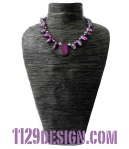 blomming-collana-perle-conchiglia-grigio-viola-agata-shell-pearl-agate-necklace-1129design-indossata