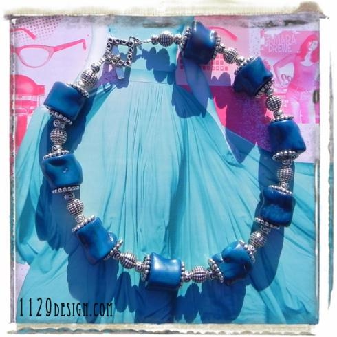MCCOBL-girocollo-corallo-blu-argento-silver-blue-ocean-coral-necklace-1129design