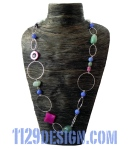 MFPICE-collana-pietre-dure-argento-silver-gemstone-mix-handmade-necklace-1129design-indossata
